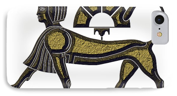 Sphinx - Mythical Creature Of Ancient Egypt IPhone Case