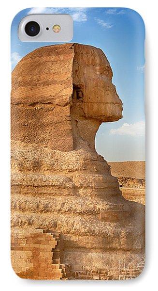 Sphinx Profile Phone Case by Jane Rix