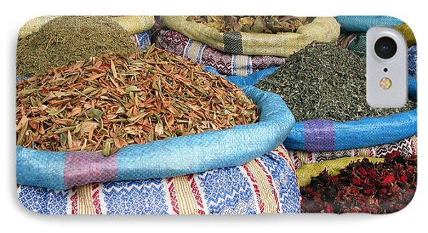 Spices At The Souk Phone Case by Sophie Vigneault