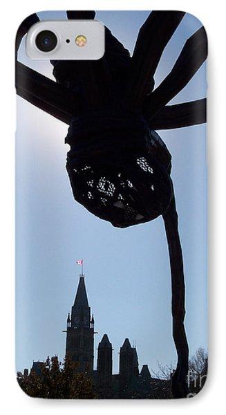 Spider Attacks Parliament Phone Case by First Star Art