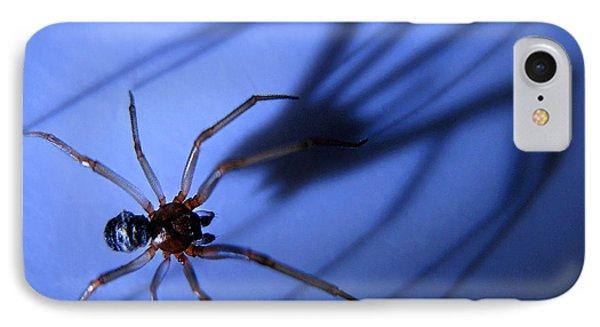 Spider Blue IPhone Case