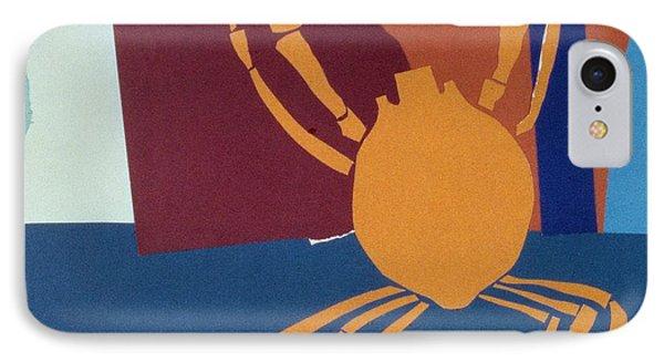 Spider Crab Phone Case by John Wallington