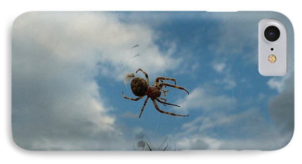 Spider IPhone Case by Jane Ford