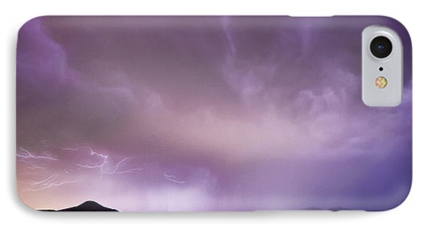 Spider Lightning Above Haystack Boulder Colorado Phone Case by James BO  Insogna