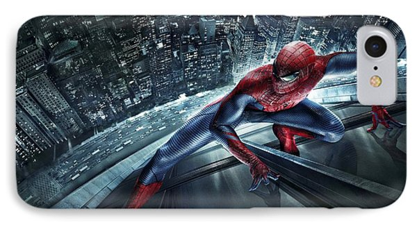 Spider Man 210 IPhone Case by Movie Poster Prints