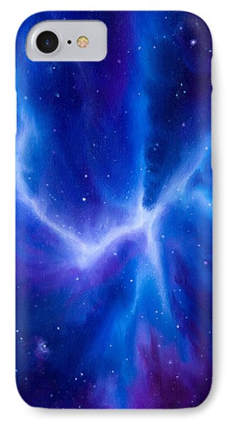 Spider Nebula Phone Case by James Christopher Hill