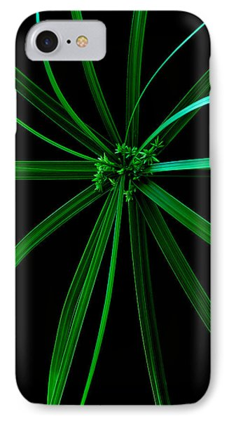 Spider Plant IPhone Case by Marwan Khoury