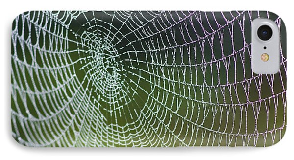 Spider Web IPhone Case by Heiko Koehrer-Wagner