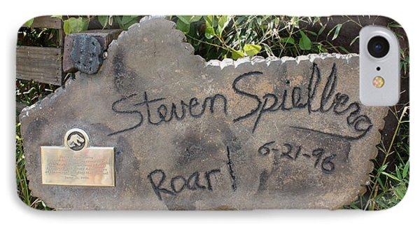 Spielberg's Ride IPhone Case by David Nicholls