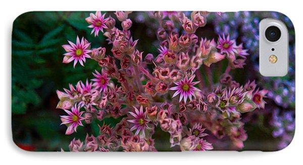 Spiky Flowers IPhone Case by Omaste Witkowski