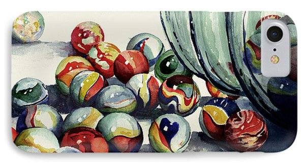 Spilled Marbles Phone Case by Sam Sidders