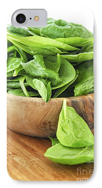 Spinach iPhone 7 Case - Spinach by Elena Elisseeva