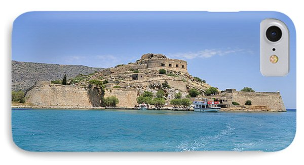 Spinalonga Island Crete Greece IPhone Case by Matthias Hauser