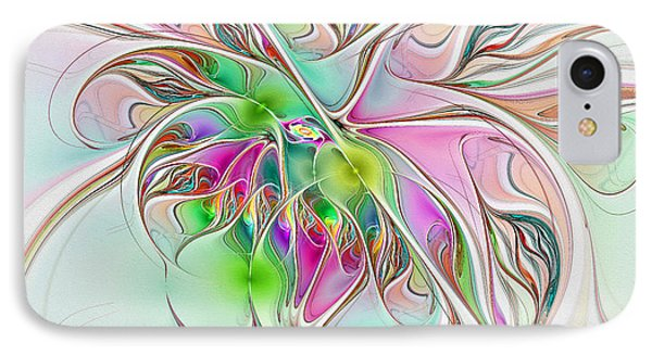 Spinning Dreams IPhone Case by Deborah Benoit