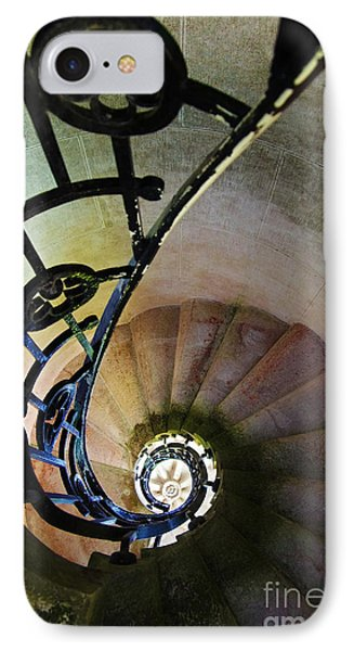 Spinning Stairway IPhone Case by Carlos Caetano