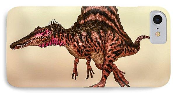 Spinosaurus Dinosaur IPhone Case by Bob Orsillo