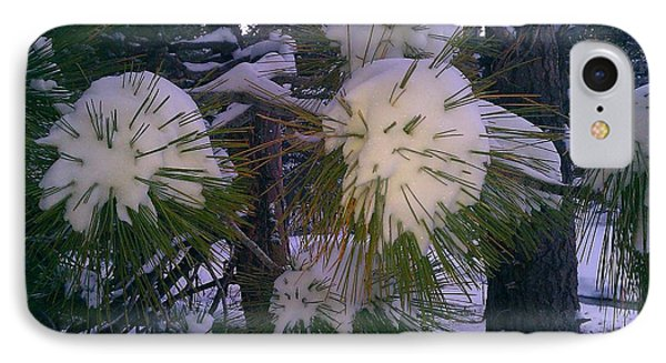 Spiny Snow Balls IPhone Case by Chris Tarpening