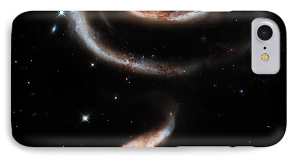 Spiral Galaxies IPhone Case
