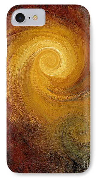Spiral Galaxy  IPhone Case by Michael Grubb