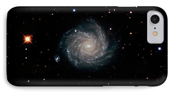 Spiral Galaxy Ngc 1232 IPhone Case by Damian Peach