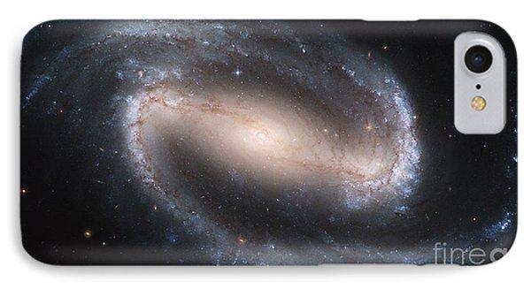 Spiral Galaxy Ngc 1300 IPhone Case