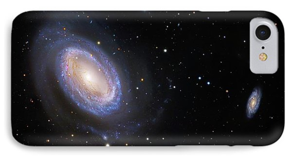 Spiral Galaxy Ngc 4725 IPhone Case