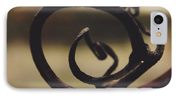 IPhone Case featuring the photograph Spiral Inside by Nikki McInnes