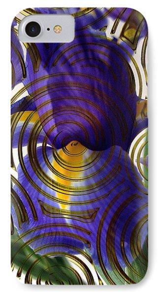 Spiral Iris IPhone Case
