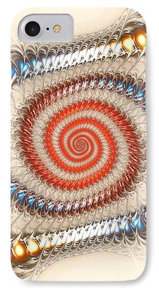 Spiral Journey Phone Case by Anastasiya Malakhova
