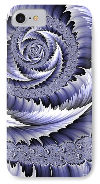Spiral Leaf Abstract IPhone Case
