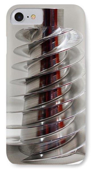 Spiral Screw IPhone Case by Mark Williamson