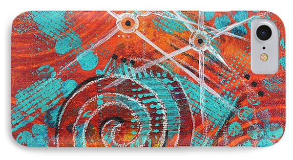 Spiral Series - Missive IPhone Case by Moon Stumpp
