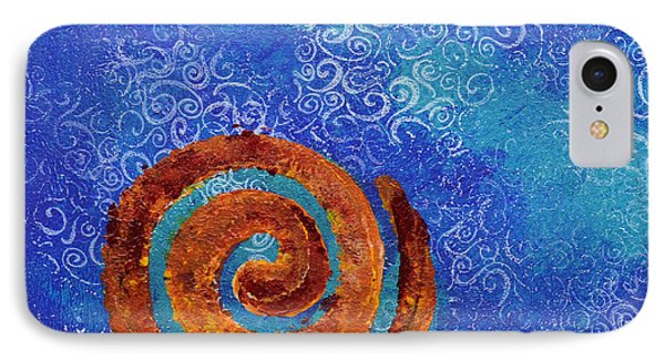 Spiral Series - Waterspiral IPhone Case by Moon Stumpp