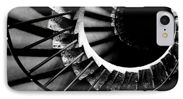 Spiral Staircase Phone Case by Fabrizio Troiani