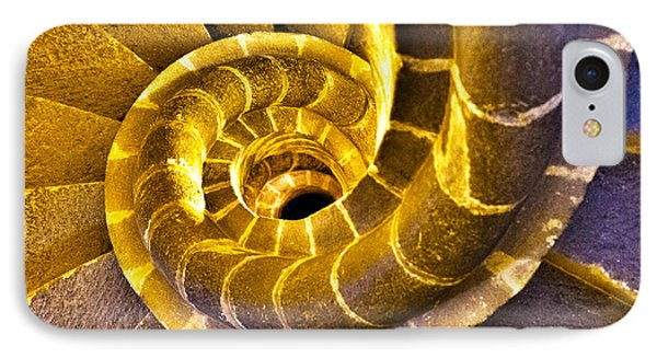 IPhone Case featuring the photograph Spiral Staircase IIi by John  Bartosik