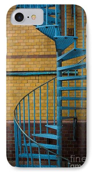 Spiral Staircase Phone Case by Inge Johnsson