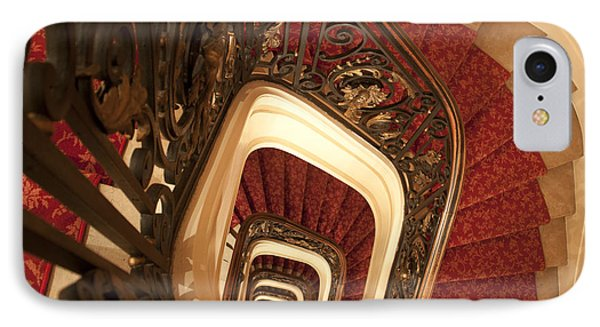 Spiral Stairs IPhone Case by Ivete Basso Photography