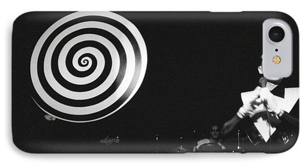 IPhone Case featuring the photograph spiral universe of Klaus by Steven Macanka