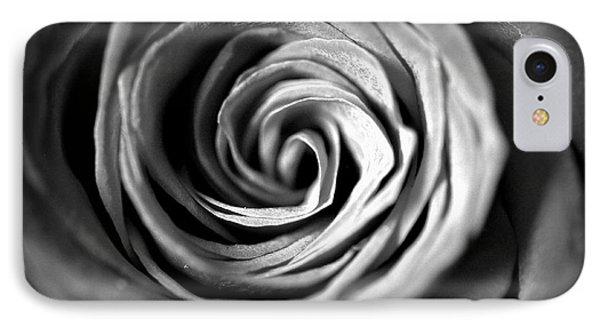 Spiraling Rose IPhone Case by Christine Ricker Brandt