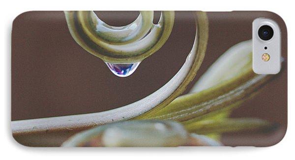 Spirals IPhone Case by Annette Hugen