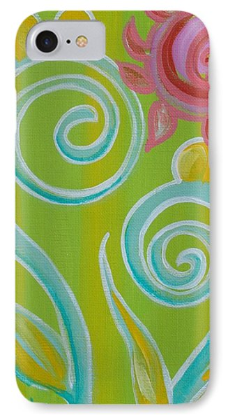 Spirals IPhone Case by Shelley Overton