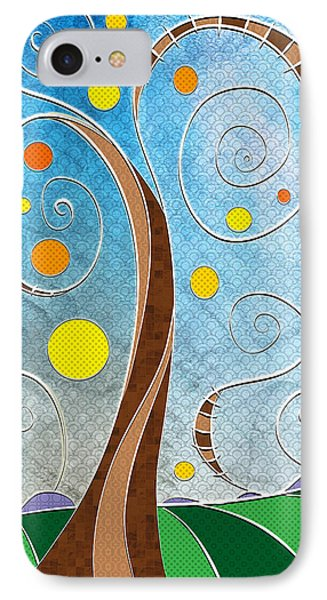 Spiralscape IPhone Case by Shawna Rowe