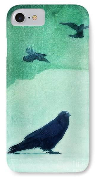 Spirit Bird Phone Case by Priska Wettstein