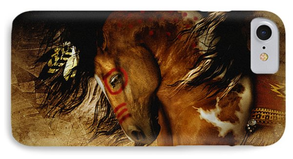 Spirit Horse IPhone Case by Shanina Conway