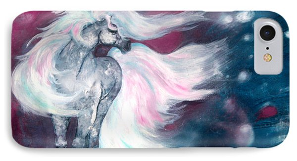 Spirit Horse Phone Case by Sherry Shipley