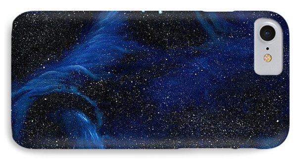 Spirit In Space IPhone Case by Murphy Elliott