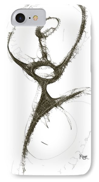 Spirit Of A Dancer1 Phone Case by Khaya Bukula