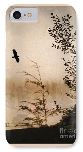 Spirit Of Alaska IPhone Case by Cynthia Lagoudakis