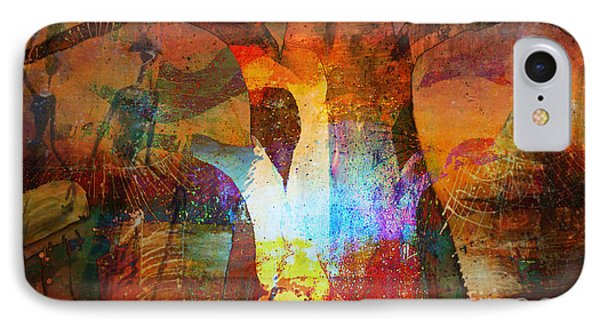 Spirit Of Baobab IPhone Case by Fania Simon