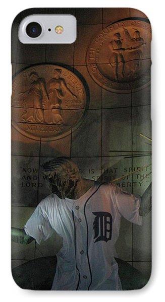 Spirit Of Detroit Tigers IPhone Case